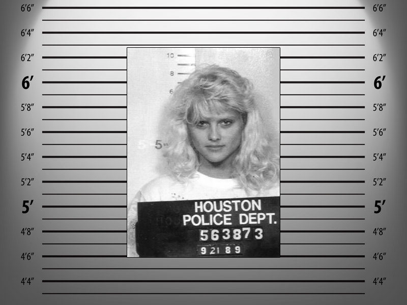 Anna Nicole Smith was arrested for drunk driving in her home state of Texas in 1989.