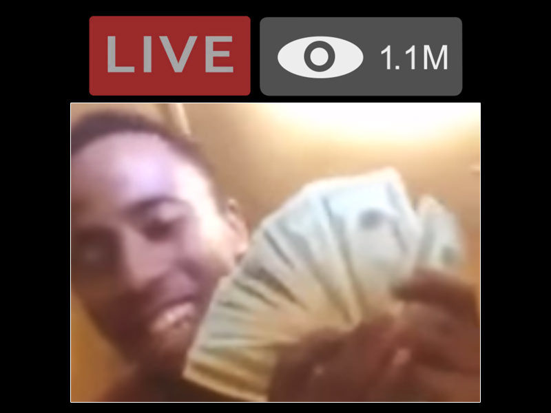 Drug Dealer Brags Over Live Stream As Cops Bust In