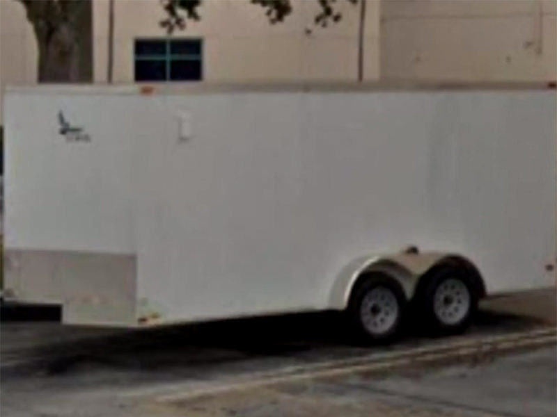 Florida are praying for help to find a trailer that was stolen with the entire contents of their church.