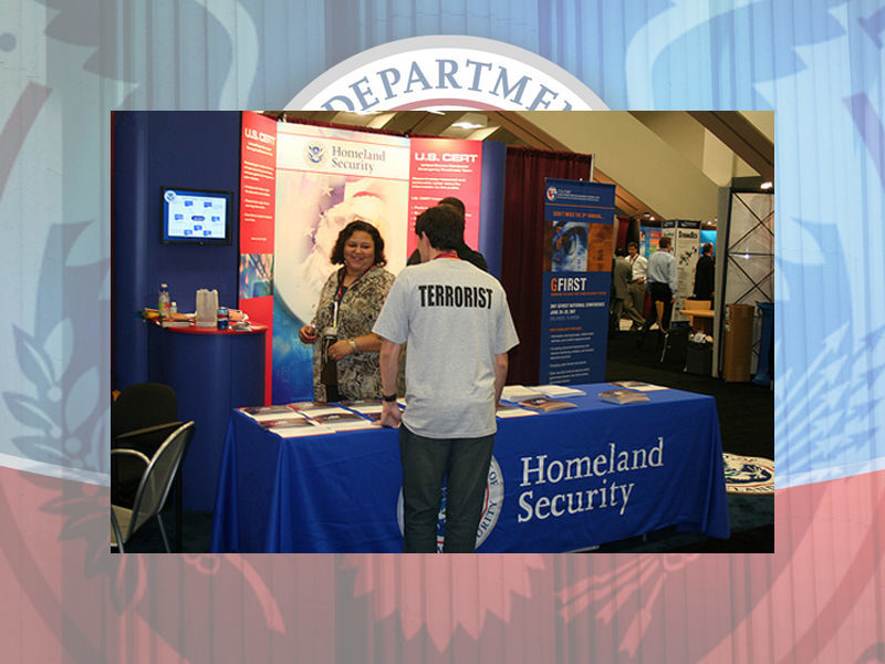 Homeland Security Employment Booth