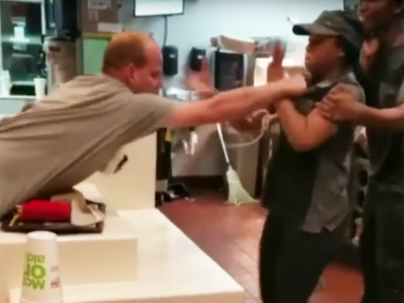 McDonald's Employee Attacked Over Straw