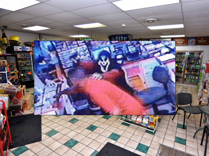 "Suspect Uses ""Scream"" Mask To Rob Store Clerks"