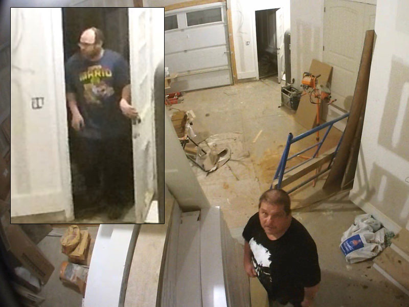 Crooks Burglarize Couple's Under Construction Dream House... Leaves Video Cameras
