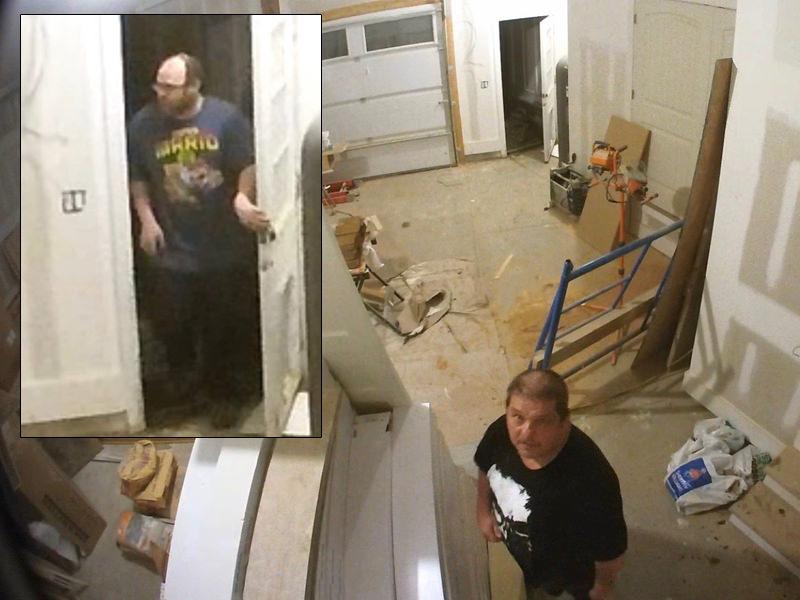 Crooks Burglarize Couple's Under Construction Dream House… Leaves Video Cameras