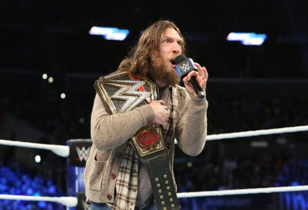 WWE Superstar Daniel Bryan apprehends burglar with rear naked choke hold