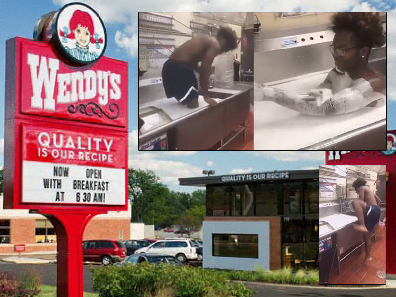 Florida Man Takes Bubble Bath In Wendy S Kitchen Sink Clumsy Crooks