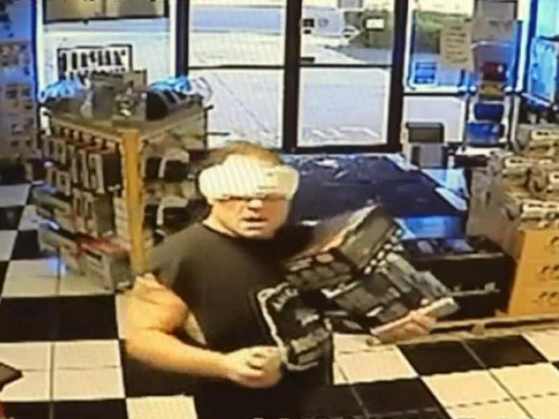 'Maxi Pad Bandit' Arrested Despite Amusing Disguise